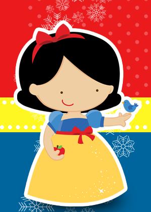 Convite Infantil_Branca de Neve